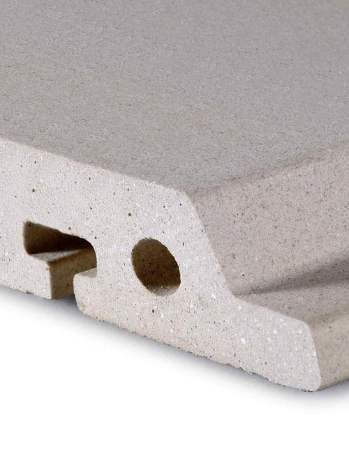 素面陶板D18-3