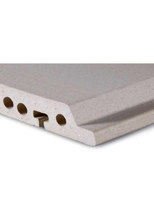 素面陶板D18-4