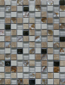玻璃配貝殼2